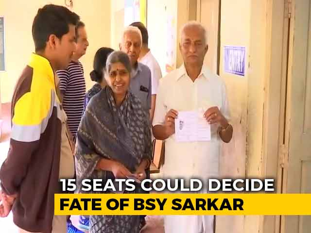 Video : BJP Bets On Defectors As Karnataka Votes For Bypolls