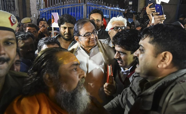 'Happy To Breathe Air Of Freedom': P Chidambaram After Leaving Tihar