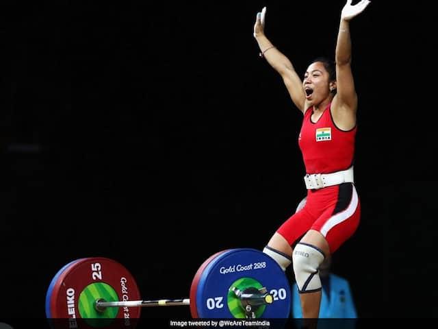 Mirabai Chanu Bags Gold At Qatar International Cup