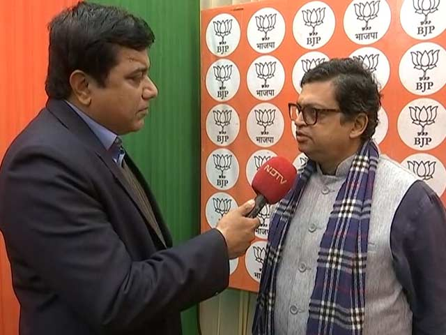 "Video : ""NRC Not An Election Issue In Jharkhand"": BJP's Gopal Krishna Aggarwal"
