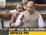 "Video : ""Congress Kept Farooq Abdullah's Father In Jail For 10 Years"": Amit Shah"