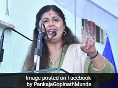 BJP's Lotus Symbol, PM Modi's Images Missing From Pankaja Munde Event