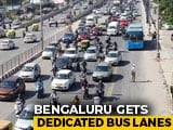 Video : Bengaluru Gets Dedicated Bus Lanes To Cut Down Commute Time