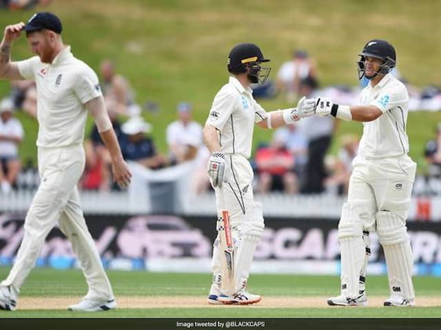 NZ vs ENG 2nd Test: Williamson, Taylor hit hundreds before rain forces draw in Hamilton