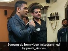 एमएस धोनी ने गाया दिल छू लेने वाला गाना, बोले- 'तुम देना साथ मेरा...' देखें Viral Video