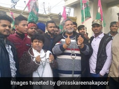 बिहार बंद के दौरान बेड़ियां पहनकर सड़क पर उतरे पप्पू यादव, कहा- 'CAA संविधान की आत्मा पर हमला'