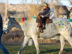 5-Year-Old Wanted To Ride Unicorn Before Brain Surgery. His Class Obliged
