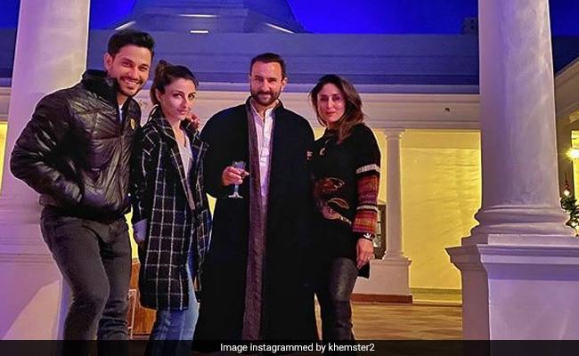 Saif Ali Khan, Kareena Kapoor And Soha, Kunal Kemmu's Double Trouble At Pataudi Palace