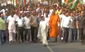 'Ekla Chalo Re': Mamata Banerjee Invokes Tagore At Citizenship Act Rally