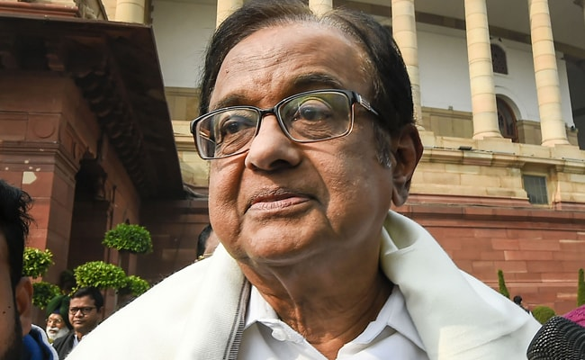 Image result for Chidambaram was in Parliament just one day after being granted bail