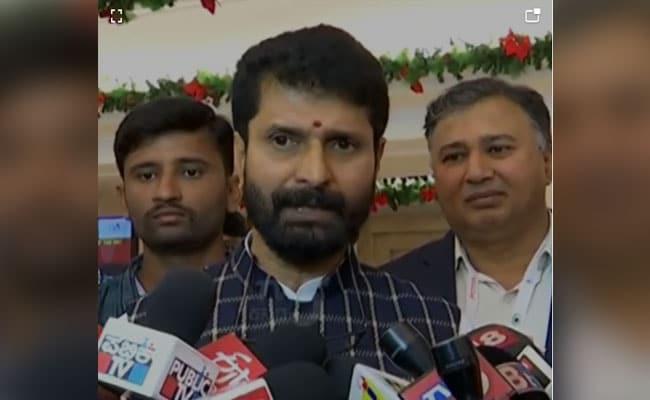 Karnataka Tourism Minister CT Ravi Tests Positive For COVID-19