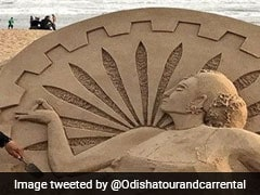 Odisha's Sand Art Festival Marks Recovery From Cyclone Fani: Officials