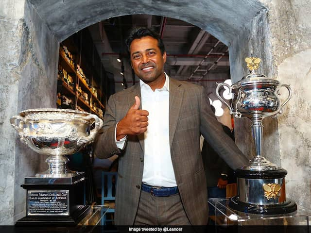"Leander Paes Hints At Possible Retirement, Says ""Lived My Career Playing For Country"""
