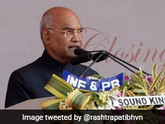 """Fake News A New Menace,"" Says President Ram Nath Kovind"