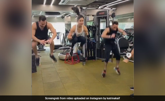Fitness Freak Katrina Kaif Describes Her Workout Routine As 'Madness'
