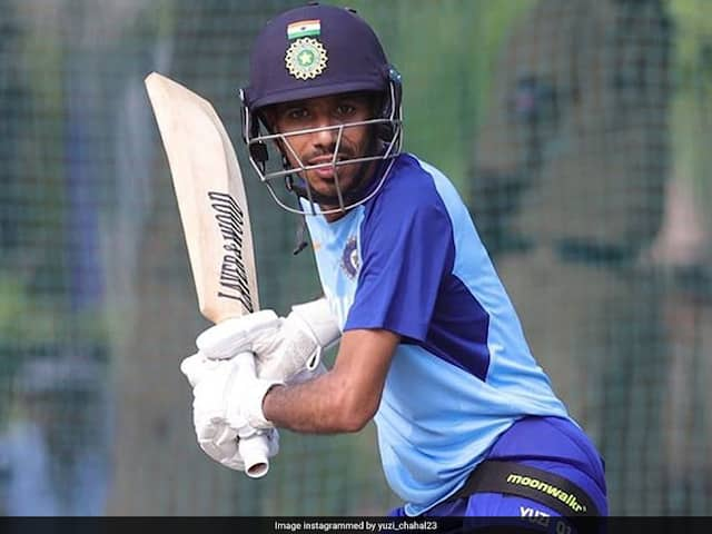 """England Woman Cricketer, India Fielding Coach Tease Yuzvendra Chahal For Enjoying """"Day Out In The Nets"""""""