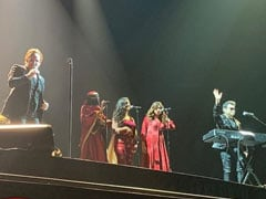 U2 Rock Mumbai Concert, AR Rahman And Daughters Cast Musical Spell With <I>Ahimsa</I>