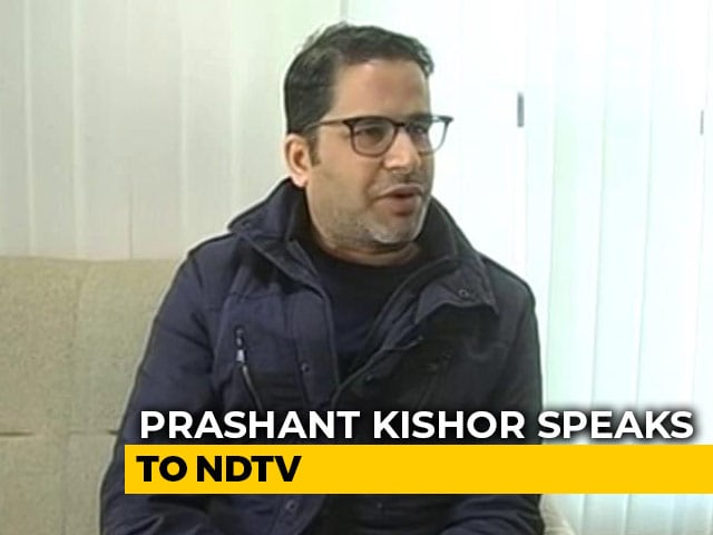 "Video : ""Have Faith On Nitish Kumar, He Will Stick To His Stand On NRC"": Prashant Kishor To NDTV"