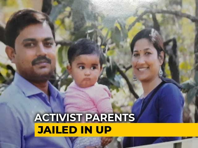 Video : Activist Parents Jailed For Citizenship Protest in UP, Baby Ayra At Home