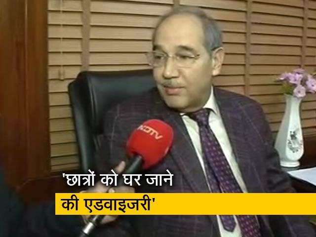 Video : AMU के वाइस चांसलर तारिक मंसूर ने NDTV से की खास बातचीत