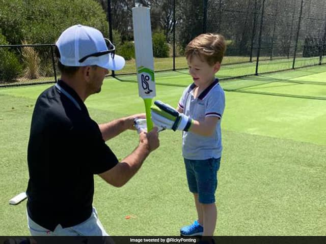 Ricky Ponting Makes Debut On Twitter, Instagram; Posts Pictures From Net Session With Son