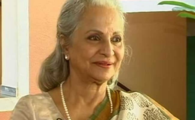 Rapists Must Be Imprisoned For Life, Not In Our Hands To Kill: Waheeda Rehman