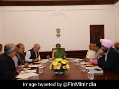 """""""We Feel Embarrassed"""": States To Nirmala Sitharaman Over GST Compensation"""
