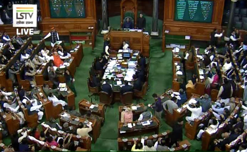 Lok Sabha Adjourned Till Noon After Opposition Creates Uproar