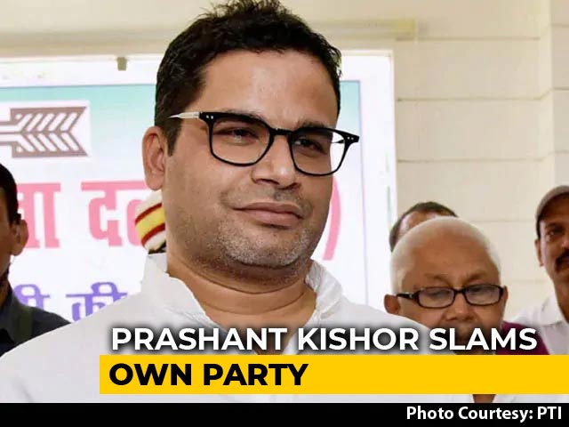 "Video : ""Disappointed"": Prashant Kishor On JDU Backing Citizenship Bill"