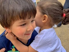 Inaaya's Birthday Wish For Taimur <I>Bhai</I> Is So Cute: 'Here's To Making Funny Faces Through Life'