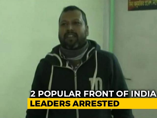 Video : Popular Front Of India Leaders Arrested In Connection With Assam Clashes