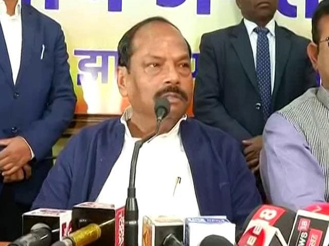 "Video : ""It Is My Defeat, Not Of BJP"": Raghubar Das On Jharkhand Leads"