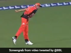 Watch: Jhye Richardson Pulls Off Sensational Run-Out By 'Bowling' From Boundary Line