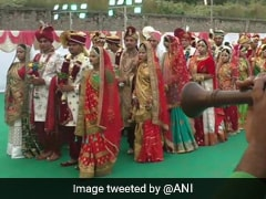 271 Couples Get Married At Mass Wedding In Gujarat