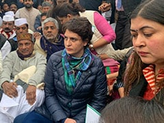 Priyanka Gandhi Leads Protest At India Gate Against Crackdown On Students