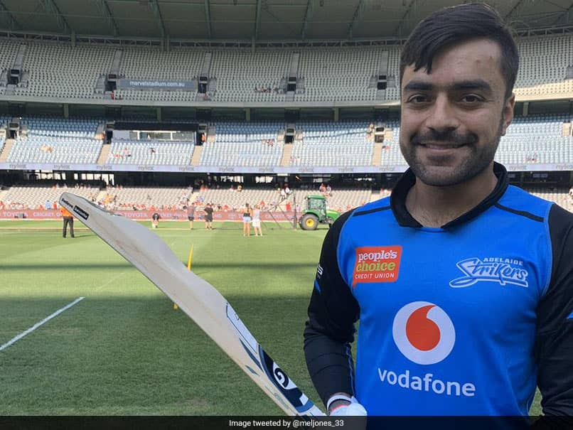 """Rashid Khan Introduces """"Camel"""" Bat In BBL, SunRisers Hyderabad Ask Him To Carry It For IPL 2020"""