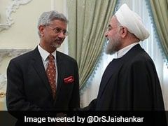 S Jaishankar Meets Iranian President; India, Iran Agree To Accelerate Chabahar Project