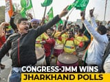 "Video : JMM-Congress Unseats BJP In Jharkhand, PM Says ""Best Wishes"""