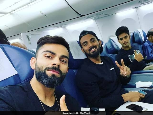 Virat Kohli Shares Flight Selfie With KL Rahul, Shivam Dube Ahead Of T20I Series vs West Indies
