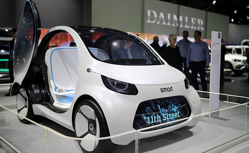 Daimler-owned Smart delivered about 116,800 electric vehicles worldwide in 2019