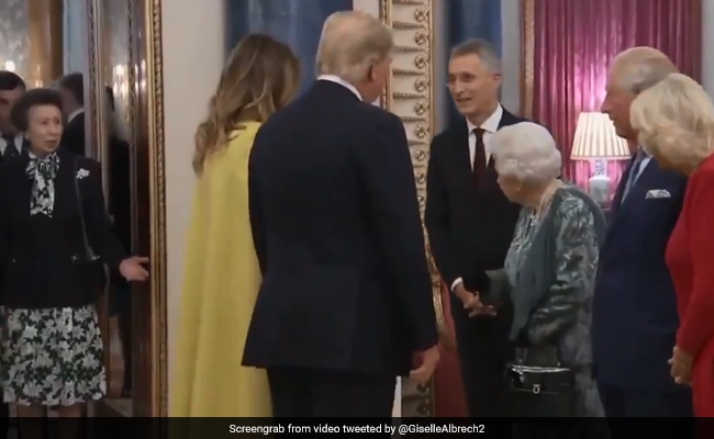 Queen's Reaction As Princess Anne Fails To Greet Trump Is Viral. Watch