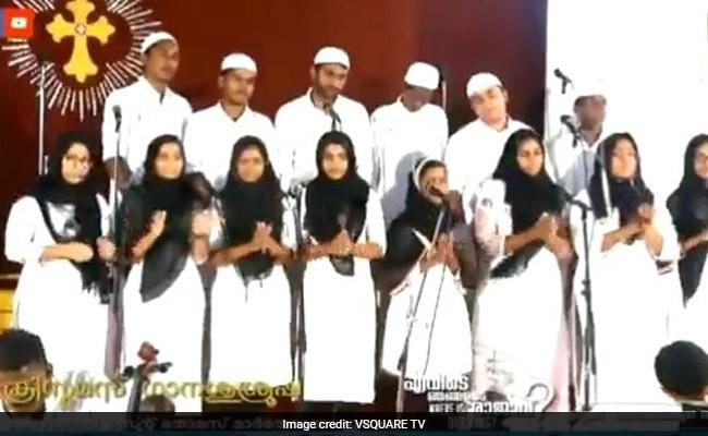 Watch: Kerala Church Choir's Skullcap, Hijab Protest While Singing Carols