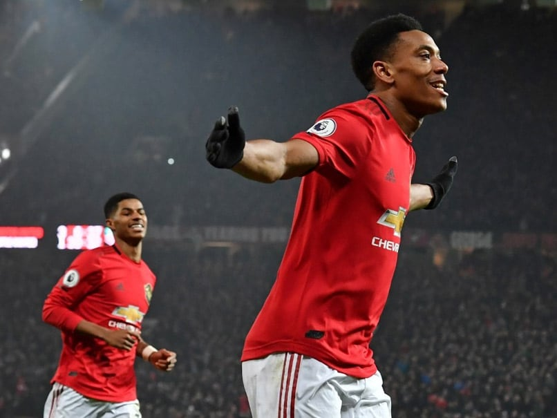 Premier League: Anthony Martial Double Fires Manchester Utd In Newcastle United Rout