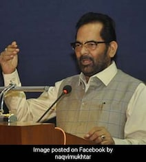 'Talibani Crime' By Sect That Met At Delhi Mosque: Minister MA Naqvi