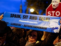 El Clasico: Protesters Block Traffic Outside Camp Nou Ahead Of Barcelona-Real Madrid Tie
