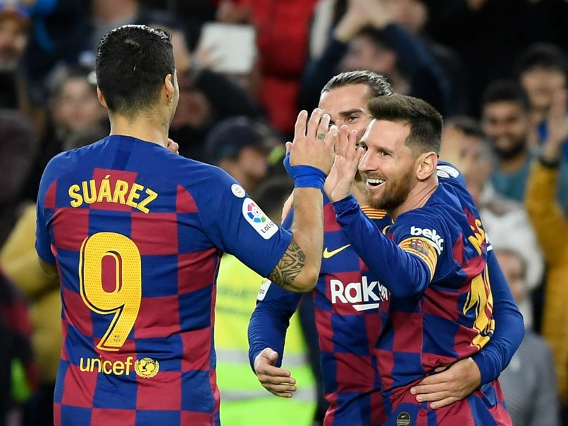 Barcelona vs Alaves: Lionel Messi Scores 50th Goal Of 2019 As Barcelona Beat Alaves 4-1 In La Liga