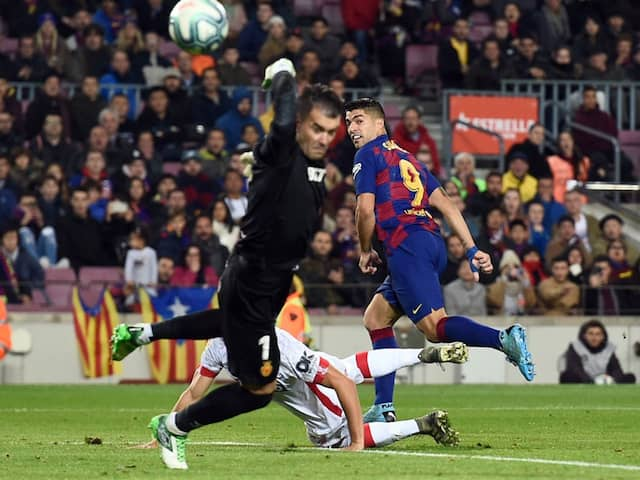 "Luis Suarez Scores His ""Best Goal"" With Stunning Backheel Against Mallorca. Watch"