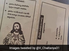 Ration card With Photo Of Jesus Christ Sparks Row In Andhra Pradesh