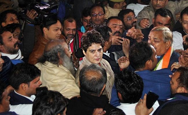 'Nautanki': UP Minister On Priyanka Gandhi Vadra's Alleged Manhandling