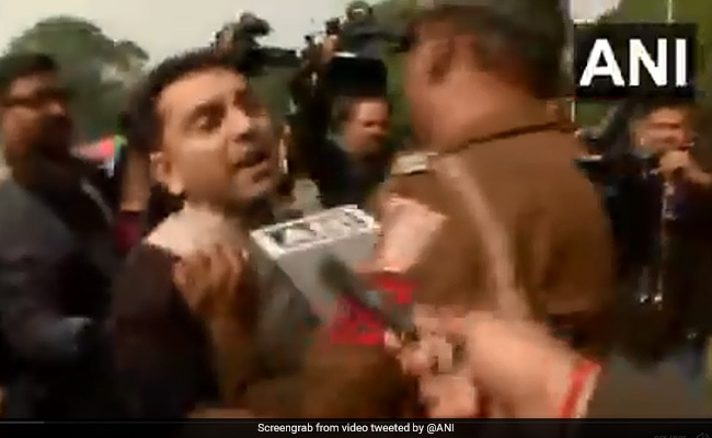 Tehseen Poonawalla Detained For Parliament Protest Over Soaring Onion Prices